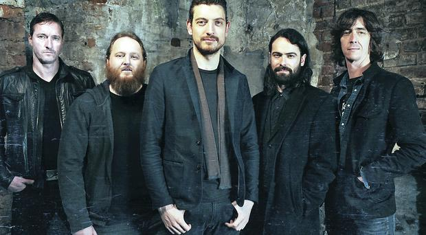 Little Matador featuring Snow Patrol's Nathan Connolly (centre)