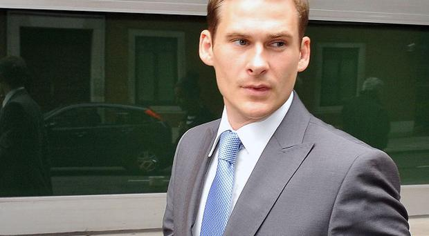 Lee Ryan was arrested in west London after police allegedly saw him driving erratically