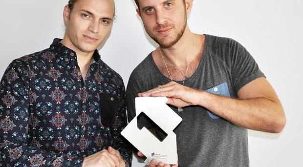 Dance duo Sigma are at number one in the singles chart.