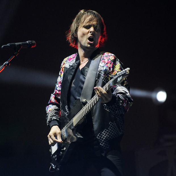 Matt Bellamy and his Muse bandmates performed at Coachella