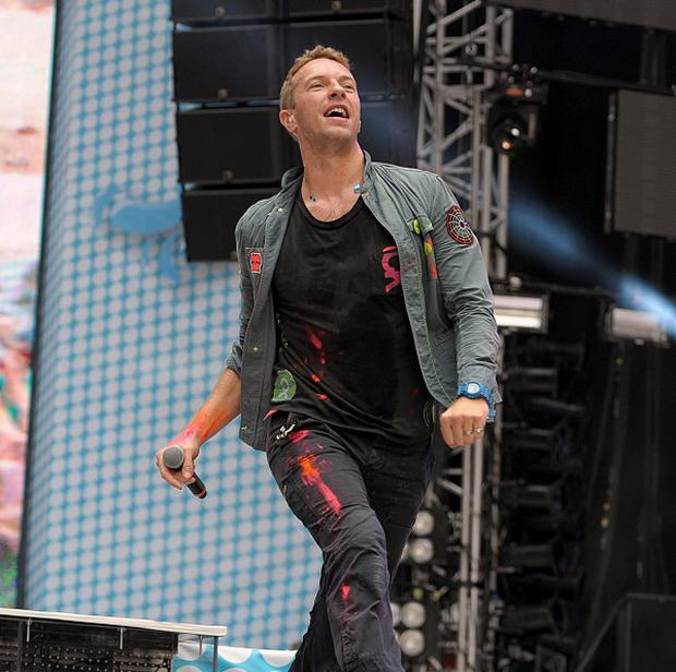 Chris Martin has admitted he likes One Direction