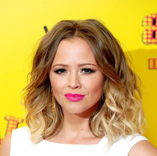 Kimberley Walsh is expecting her first child