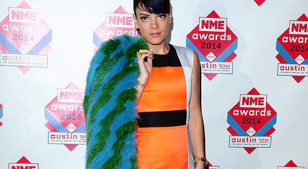 Lily Allen missed the trappings of pop success