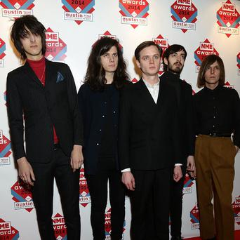 The Horrors may not look like Beyonce fans, but they say she has influenced their album