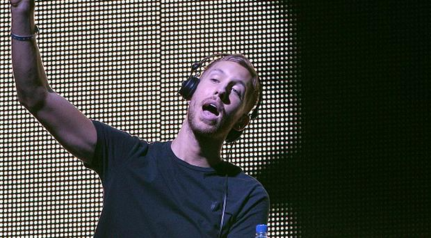 Calvin Harris has been drawing the crowds in Las Vegas