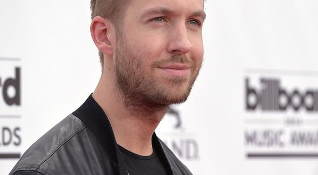 Calvin Harris apparently wants to work with Victoria Beckham