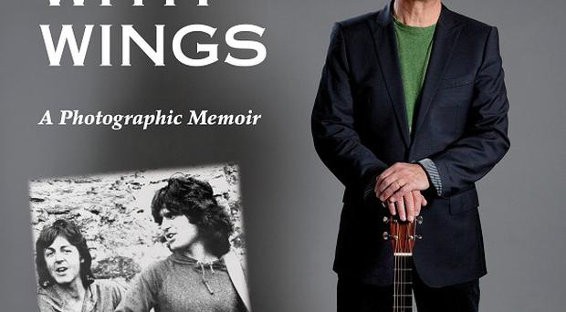 Guitarist Laurence Juber has written a book about his years with Sir Paul McCartney and his band Wings (AP /Dalton Watson Fine Books)