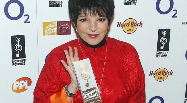 Liza Minnelli has been forced to cancel some concerts
