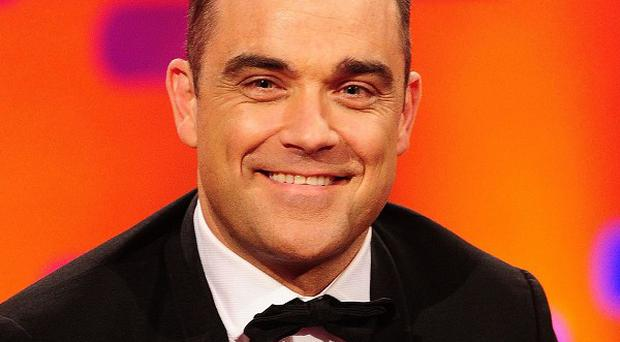 Robbie Williams' used jockstrap is being auctioned off