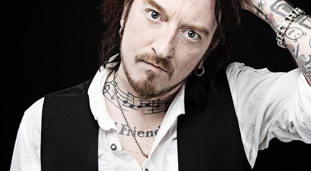Ginger Wildheart has said record labels and musicians need to take more risks