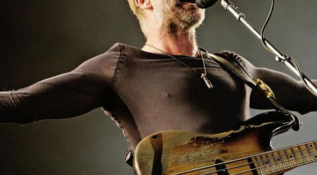 Sting will perform a song from his Broadway-bound musical, The Last Ship