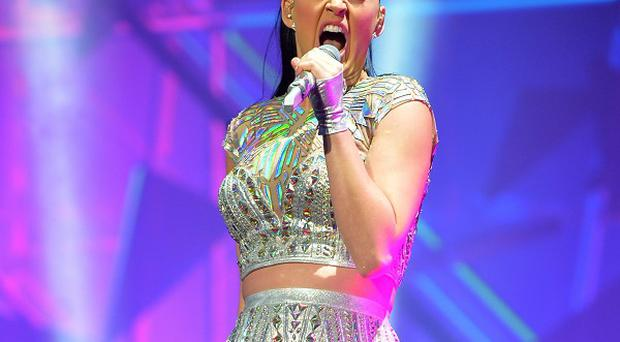 Katy Perry says she takes anxiety medication before going on stage