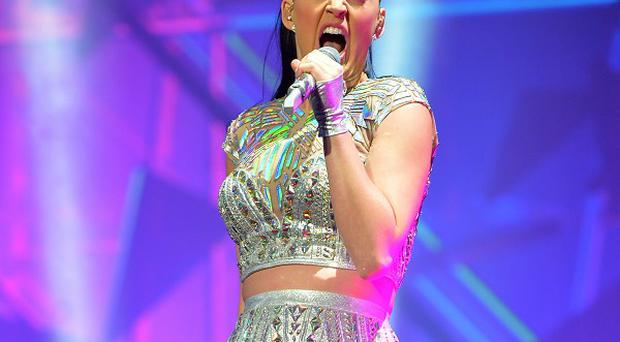 Katy Perry has said she will sing about her break-up with John Mayer