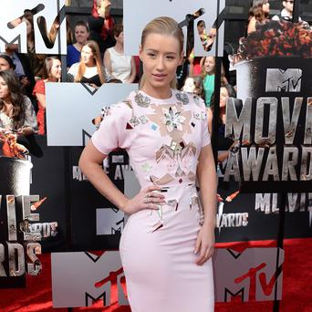 Iggy Azalea has spoken about her musical influences