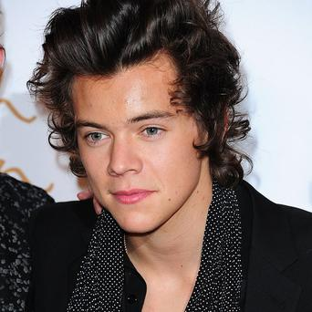 Harry Styles appeared on a video at a fan's wedding