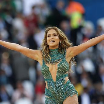 Jennifer Lopez performed at the 2014 World Cup opening ceremony