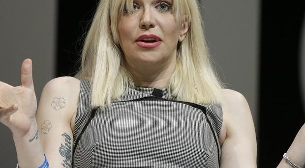 Courtney Love spoke openly about her relationships and battle with addiction at the Cannes Lions event