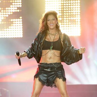 Nicole Scherzinger performed at the Isle Of MTV in Malta