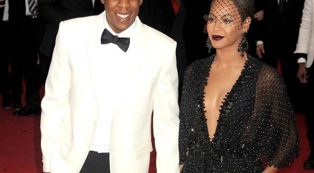 Jay Z and Beyonce have shared photos from backstage on their joint tour