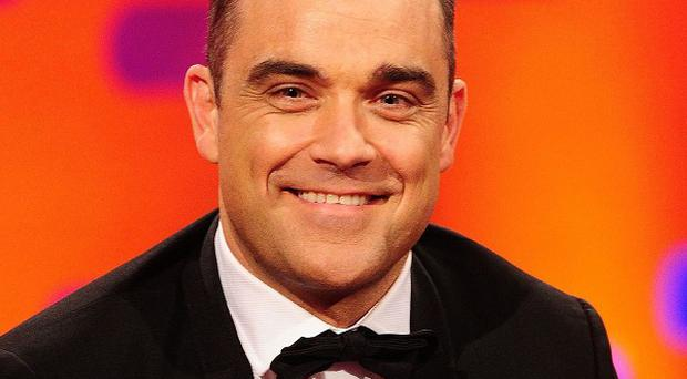Robbie Williams has been given the freedom of Stoke-on-Trent