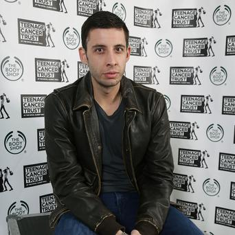 Example has said he used a 'magic' microphone of Madonna's on his new album