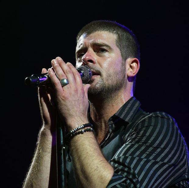 Robin Thicke's new album is named after his estranged wife