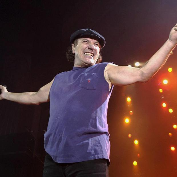 Brian Johnson has been awarded an honorary degree