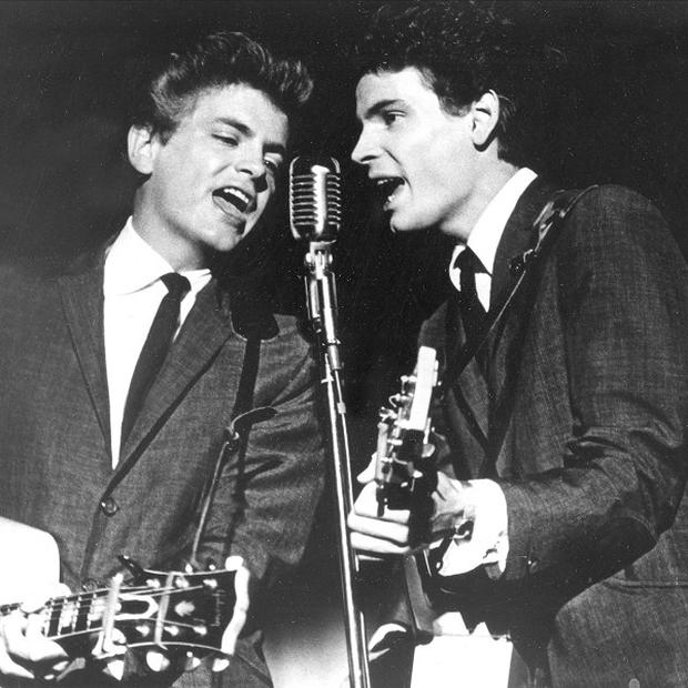 The Everly Brothers will be honoured at the Rock and Roll Hall of Fame