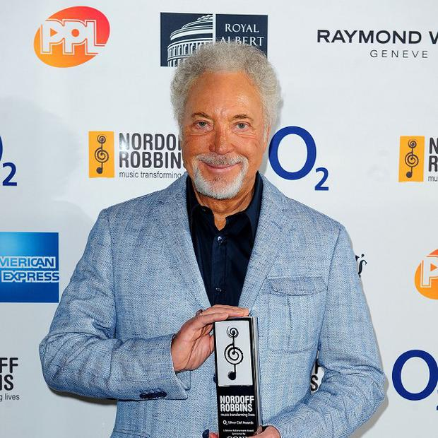Sir Tom Jones is still a knicker-magnet at 74