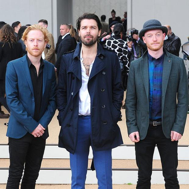 Biffy Clyro have talked about their love of the Arctic Monkeys