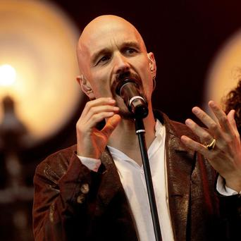 Tim Booth of James prefers a nice pair of Y fronts these days