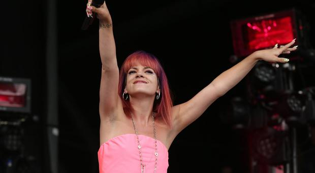 Lily Allen's songs have been pulled from the Bridget Jones musical