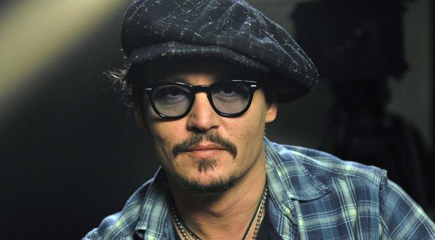 Johnny Depp who was 2003 Sexiest Man Alive