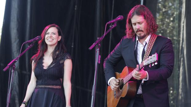 Joy Williams and John Paul White have ended their partnership as The Civil Wars (AP)