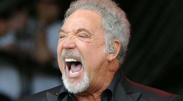 Sir Tom Jones topped a poll of music stars people would like a drink with