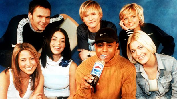 S Club 7 hit the big time during the Nineties