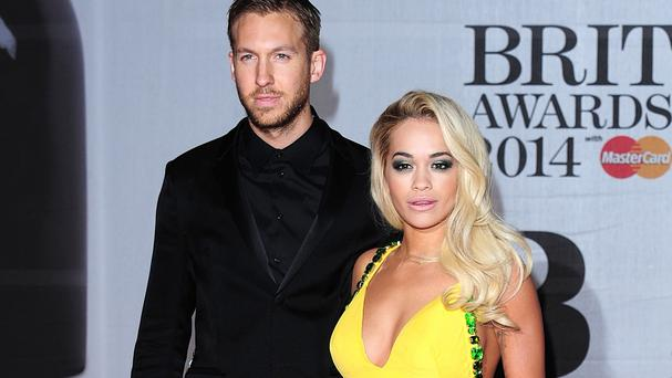 Calvin Harris and Rita Ora wrote I Will Never Let You Down together when they were dating