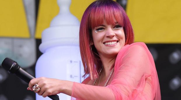 Lily Allen will headline the concert at this year's Edinburgh Hogmanay celebrations
