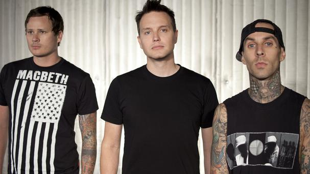 Blink-182 are currently working on a new album
