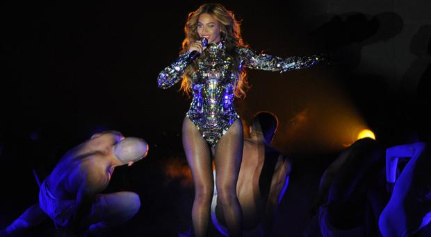 Beyonce performs at the MTV Video Music Awards (Chris Pizzello/Invision/AP)