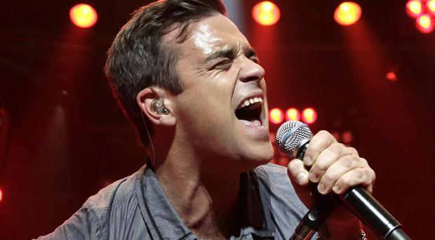Robbie Williams is in Australia for a string of shows