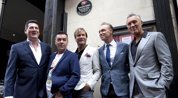 Spandau Ballet returned to the site of The Blitz Club