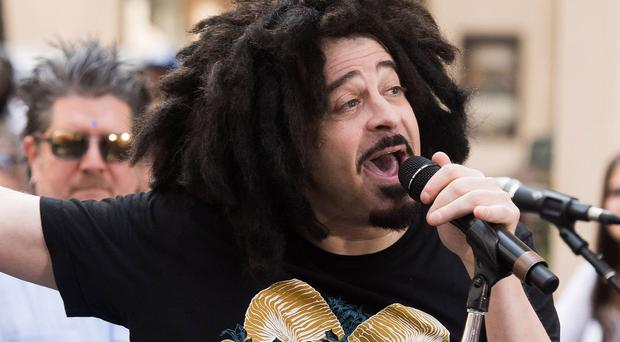 Adam Duritz said making records is a tough process