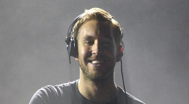 Calvin Harris shot straight to the top of the charts with Blame.
