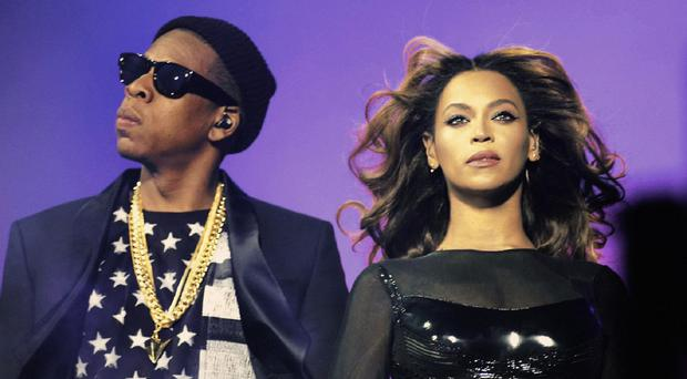 Jay Z sparked rumours that wife Beyonce is pregnant