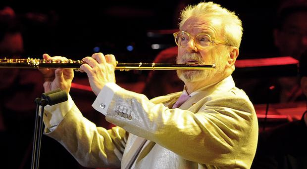 Sir James Galway received a lifetime achievement honour at the Gramophone Awards