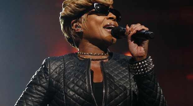 Mary J Blige performing at the iTunes Festival at the Roundhouse, Camden, London