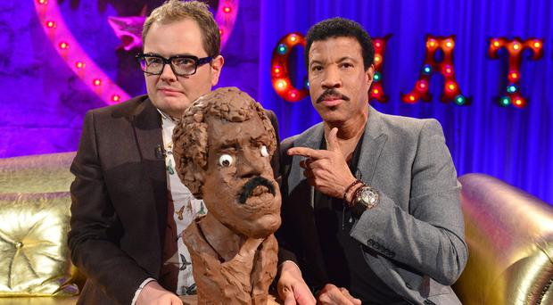 Lionel Richie and Alan Carr on Chatty Man