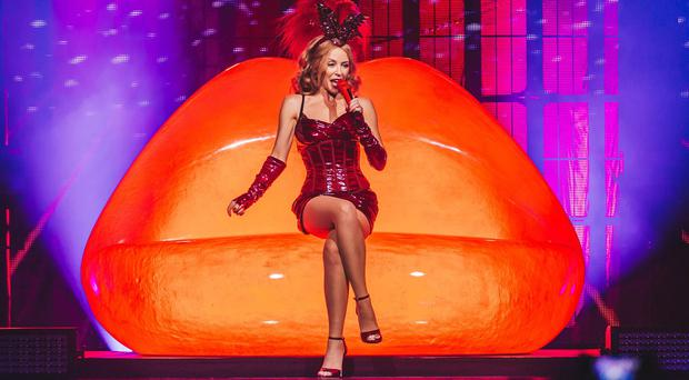 Kylie Minogue performs at the iTunes Festival (iTunes Festival, London 2014)
