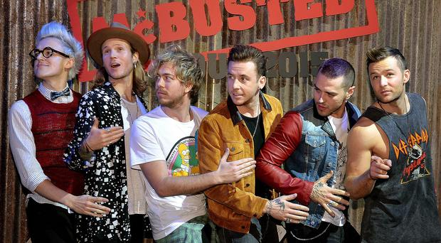 McBusted have announced their 2015 tour dates